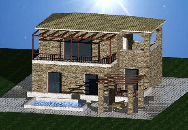 NEW FOR 2017 - Three Bedroomed Detached Houses IN STOUPA