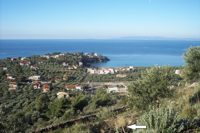 Plot of land above stoupa - €100.000